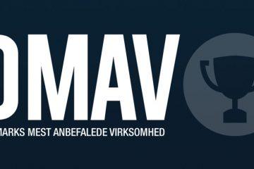Danmark Mest Anbefalede Virksomhed logo